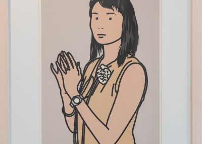 """Julian Opie, """"Twenty Six Portraits"""", 2006, 43,5 x 30,7 cm, Aufl. 250 Ex."""