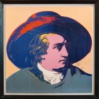Andy Warhol, Siebdruck, Gemälde