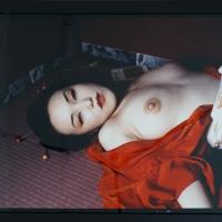Nobuyoshi Araki, O.T. ,Farbfotographie, 77x96 cm, Unikat