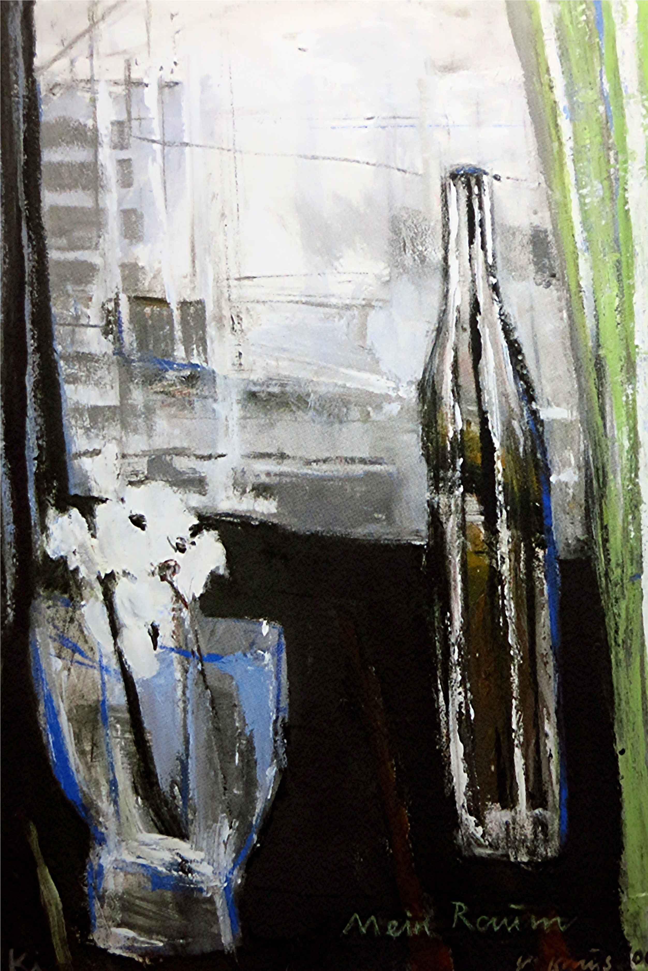 "Victor Kraus, ""Mein Raum"", 2006, Acryl auf Leinwand, 100 x 70 cm"
