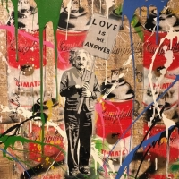 "Mr. Brainwash,""Love is the Answer"""