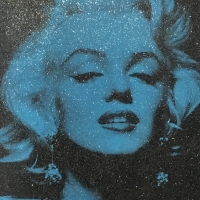 "Russell Young, ""Portrait Marilyn"""