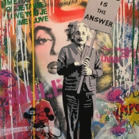 "Mr. Brainwash, ""Love is the Answer"""