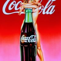 "Mel Ramos, ""Lola-Cola"""