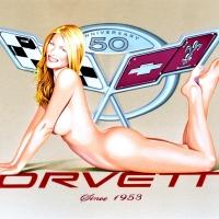 "Mel Ramos, ""Corvette"""