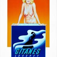 "Mel Ramos, ""Gitanes"""
