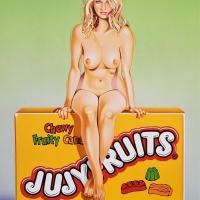 """Mel Ramos, """"Jujyfruit Judy"""""""